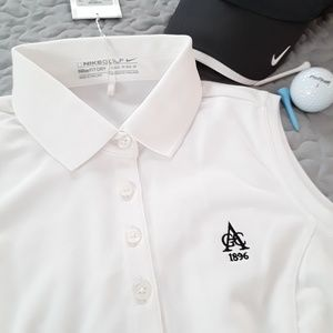 Nike Golf Womens 1896 Fit Dry Top Sleeveless XS